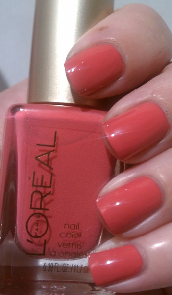 L'Oreal Summer 2012 It's Gold or Nothing At All Nail Lacquer Swatches and Reviews