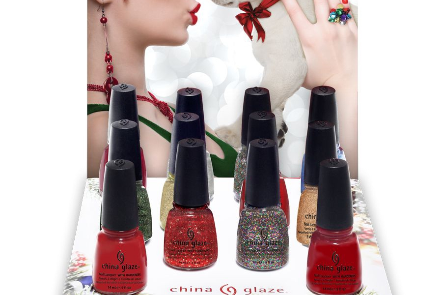 China Glaze® Debuts 12 Glittering, Shimmering, Ravishing Colours for Holiday 2012