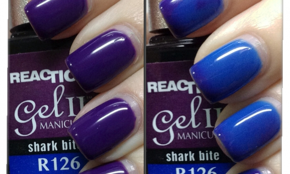 Gel II Reaction Polish – Shark Bite – Swatches and Review