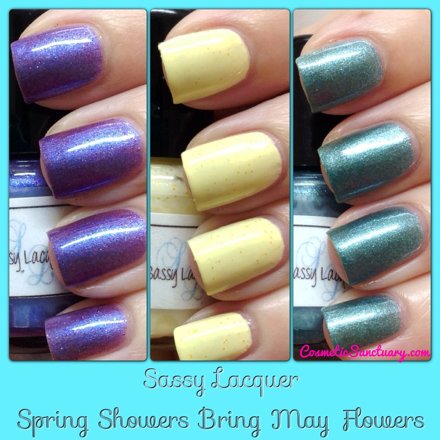 Sassy Lacquer Spring Showers Bring May Flowers Collection ...