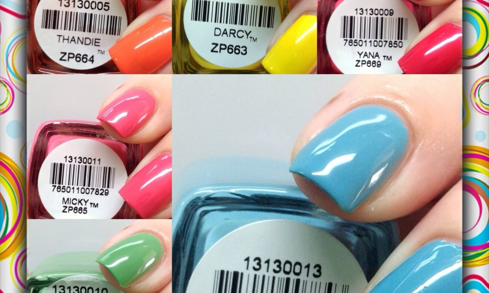 Zoya Summer 2013 Stunning Collection Swatches and Review