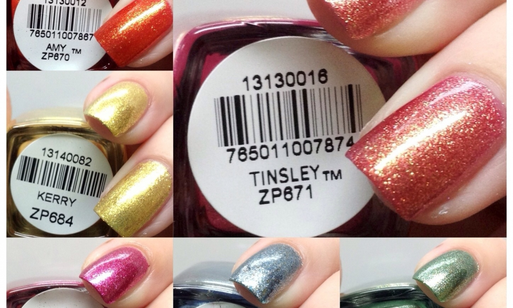 Zoya Summer 2013 Irresistible Collection Swatches and Review
