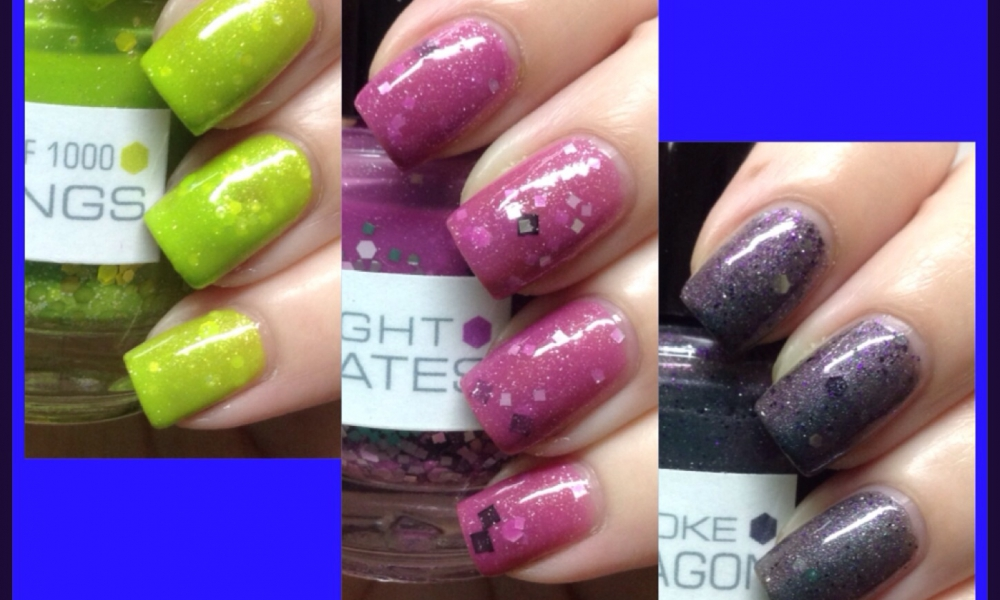 Ninja Polish NerdLacquer Exclusives Swatches and Reviews