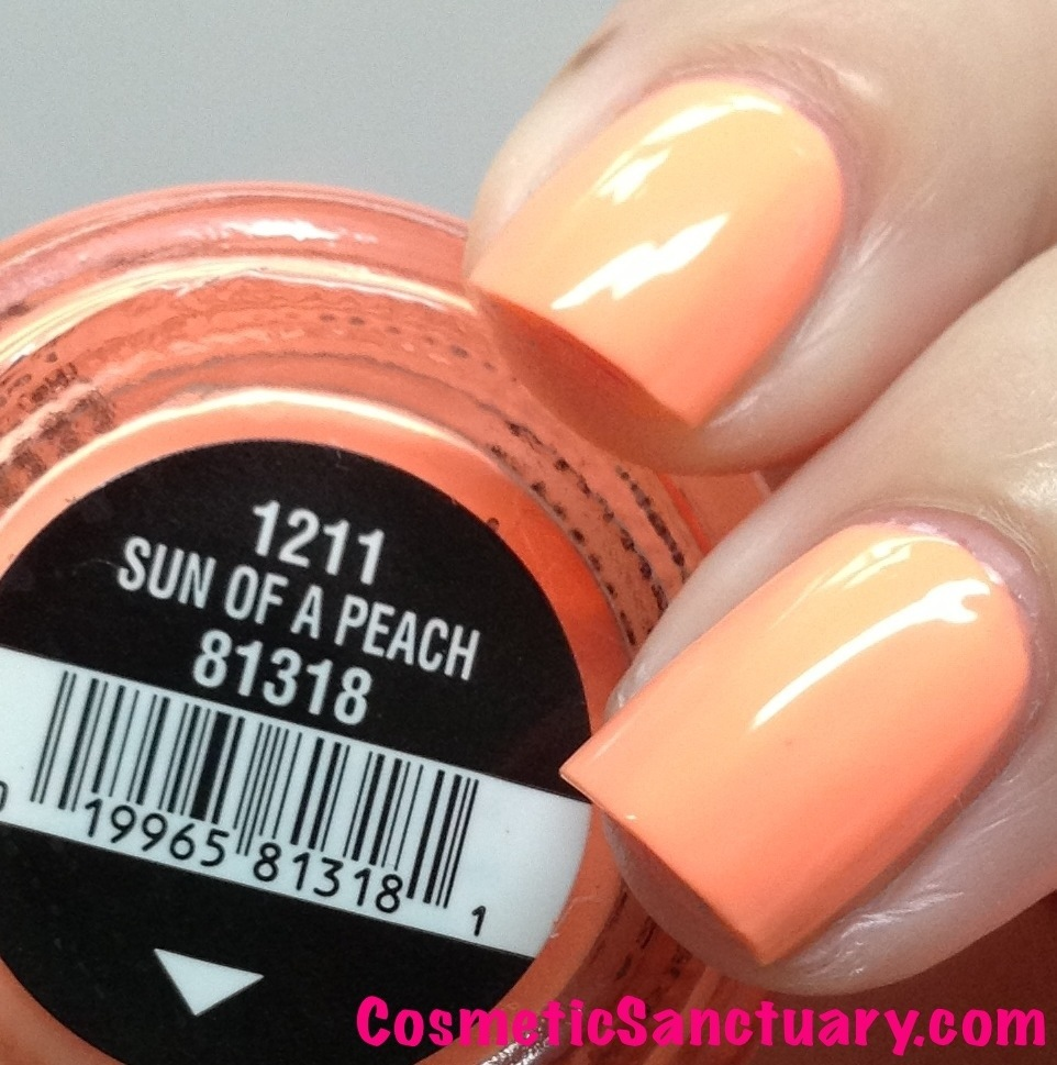 China Glaze - Sun Of A Peach