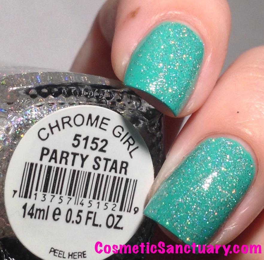 Party Star over Shmexy artificial lighting closeup