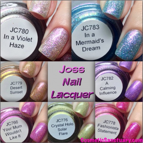 Joss Nail Lacquer Swatches and Review
