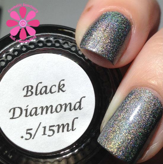 Darling Diva Polish - Black Diamond