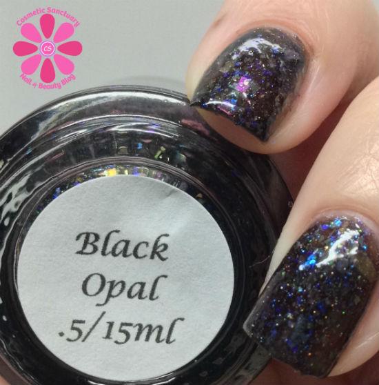 Darling Diva Polish - Black Opal