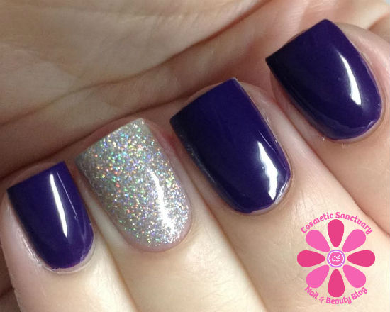 butter LONDON Bramble and Stardust Swatch and Review