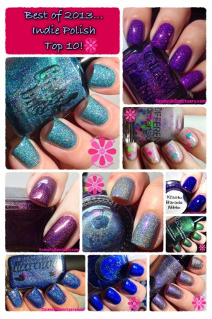Best of 2013 Top 10 Indie Nail Polishes