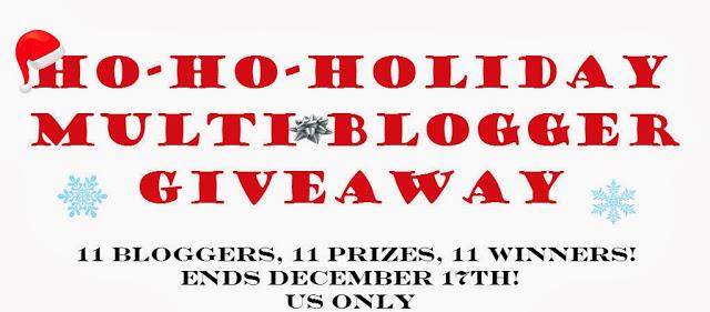 Ho-Ho-Holiday MultiBlogger Giveaway Image