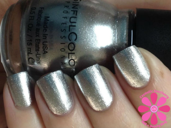 SinfulColors - Simply Silver