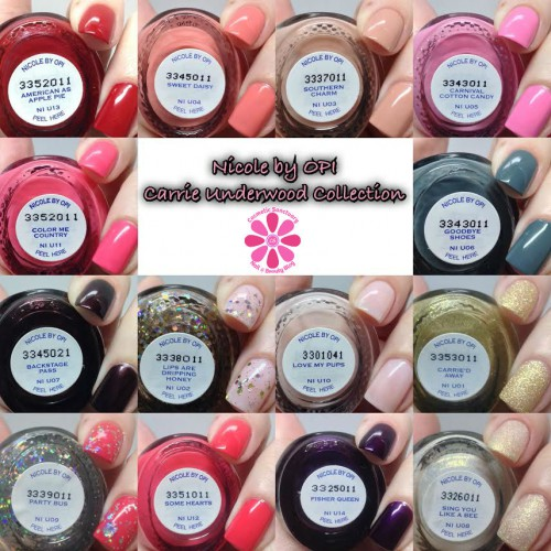 Nicole by OPI Carrie Underwood Collection Swatches & Review