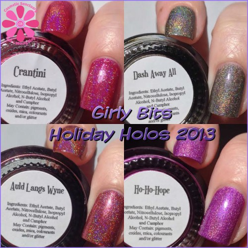 Girly Bits Holiday Collection