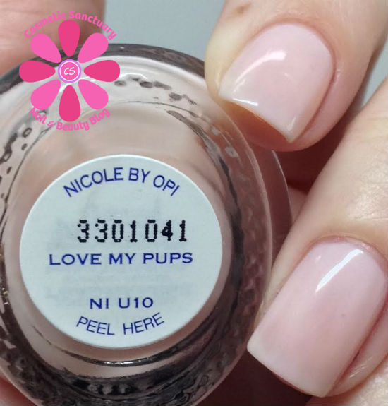 Nicole by OPI Love My Pups Swatch - Cosmetic Sanctuary