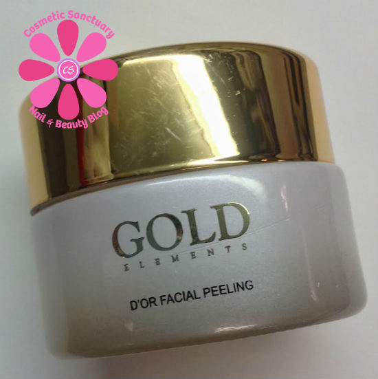 d'or facial peeling side