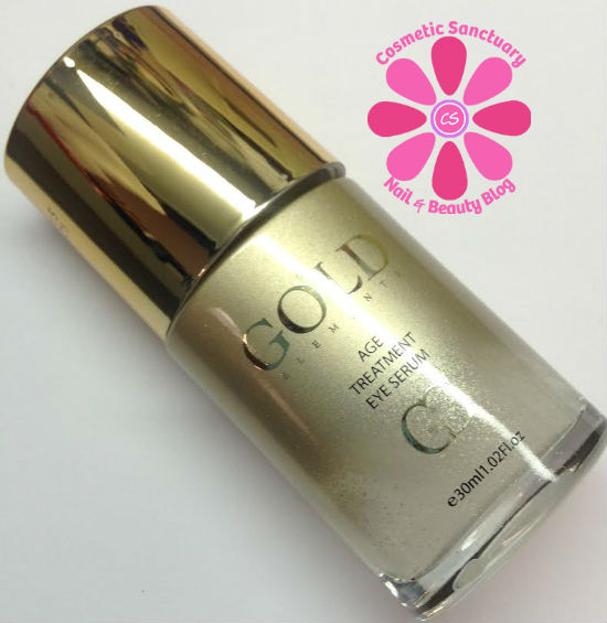 gold eye serum bottle