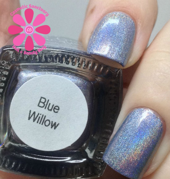 Too Fancy Lacquer - Blue Willow