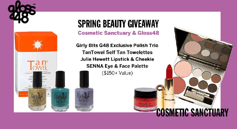 Girly Bits Gloss48 Exclusive Polish Trio & Giveaway