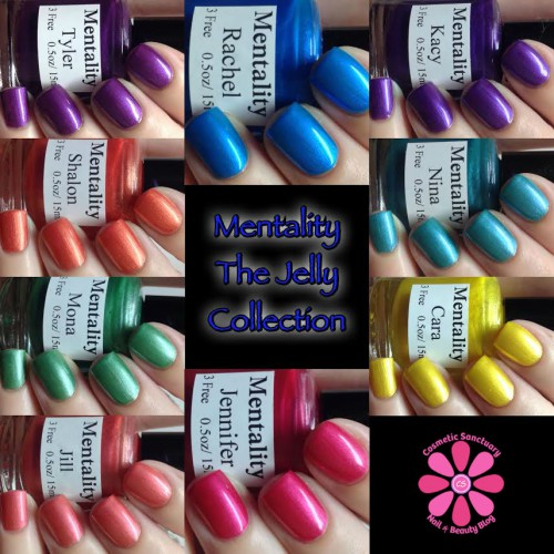 Jelly Collection Collage