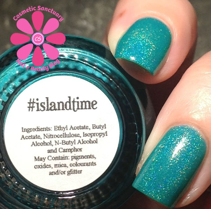 islandtime artificial lighting closeup