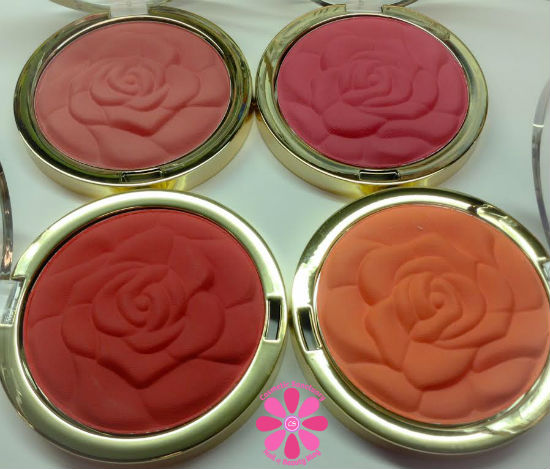 Milani Limited Edition Coming Up Roses Collection Powder Blush Swatches and Review