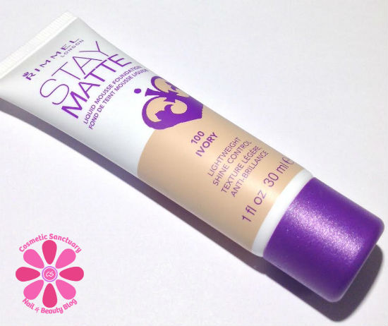 Stay Matte Foundation Ivory