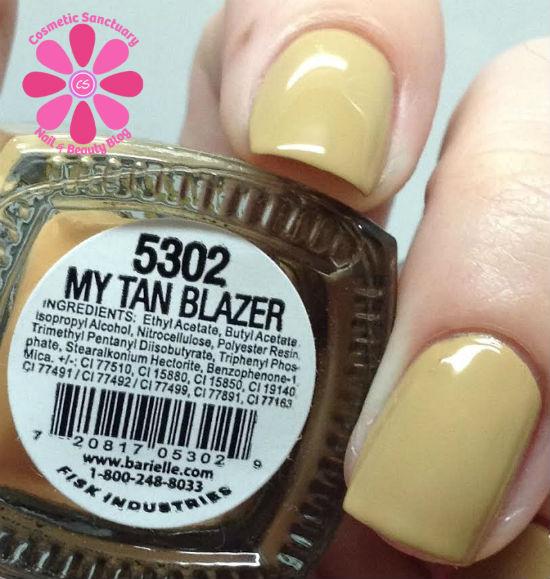 Barielle - My Tan Blazer