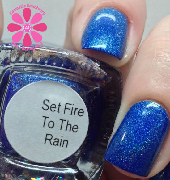 Too Fancy Lacquer - Set Fire To The Rain