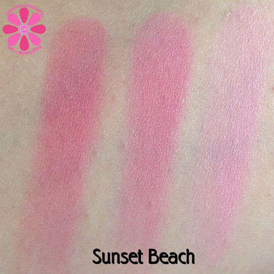 Sunset Beach Swatches