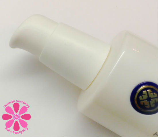 Tatcha Pure Cleansing Oil pump