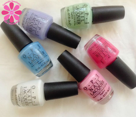 OPI Limited Edition Hello Flamingo Collection Swatches, Review & Giveaway