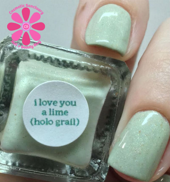 Philly Loves Lacquer - I Love You A Lime