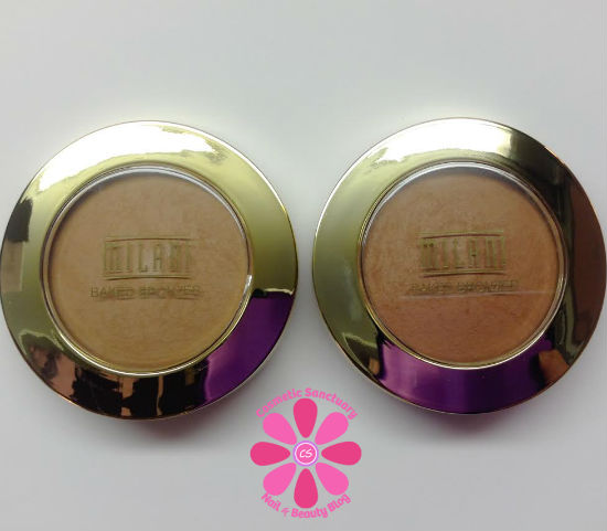 Milani Limited Edition Matte Baked Bronzers Sienna & Sunset Review