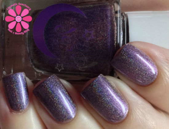Celestial Cosmetics Swatches and Review