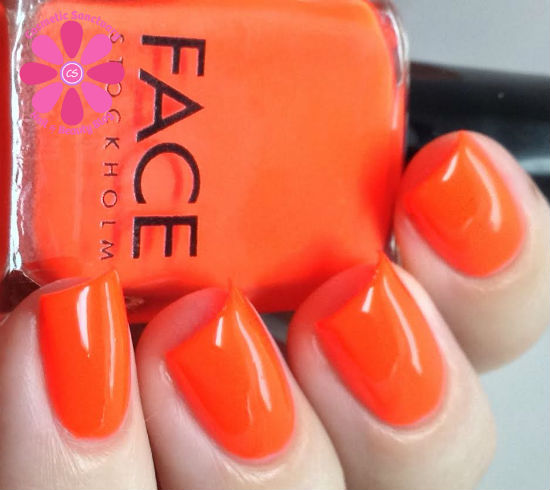 FACE Stockholm 73 and 58 Nail Polish Swatches & Review