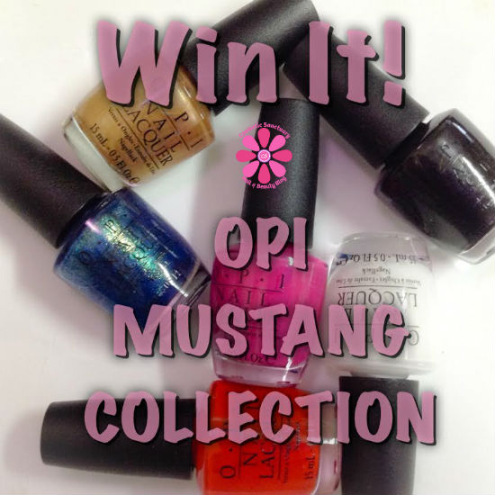 Giveaway: OPI Mustang Collection