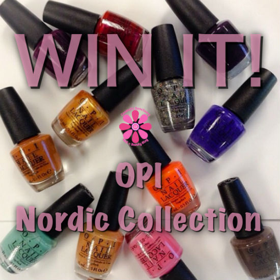 OPI Fall 2014 Nordic Collection Giveaway