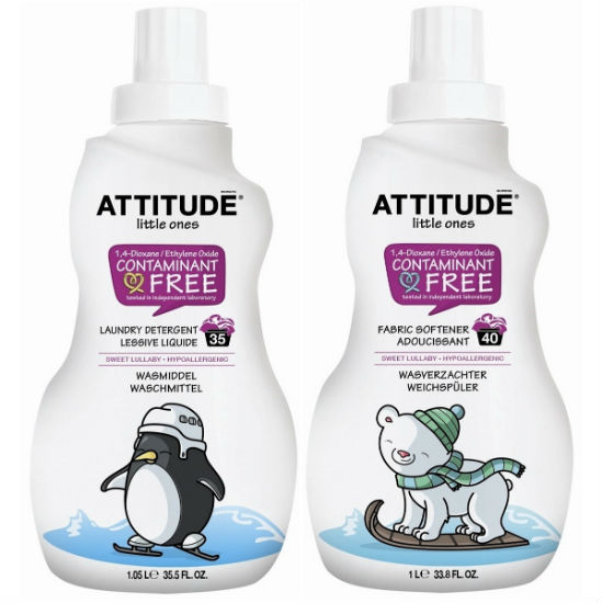 Clean Attitude Laundry Detergent & Softener – Sweet Lullaby