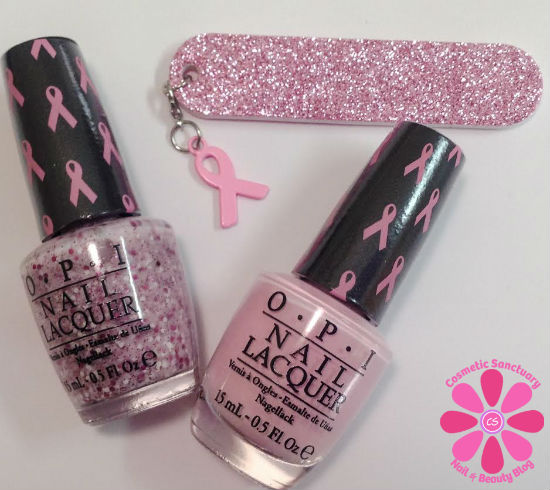 OPI Pink Of Hearts 2014 Duo for Breast Cancer Awareness Review & Giveaway
