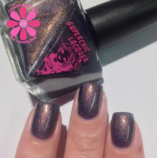 SuperChic Lacquer Baker's Hunger For A Bun In The Oven Swatches & Review