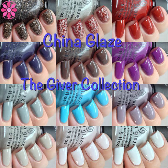 China Glaze The Giver Collection Swatches & Review