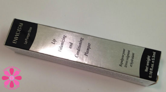 Envy Derm Lip Plumping Gloss Review & Giveaway