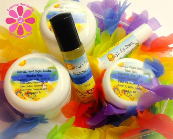 Sunny's Body Products Summer Exclusive Box Review