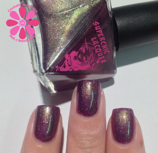 SuperChic Lacquer  Nightshade Serum To Youth, Like Actually! Swatches & Review