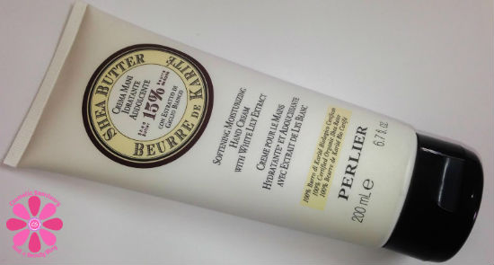 Perlier Shea Butter White Lily Hand Cream Review