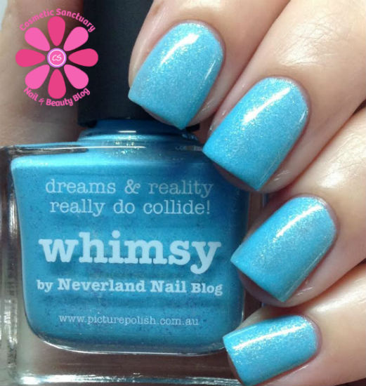 piCture pOlish Whimsy by Neverland Nail Blog Swatch & Review