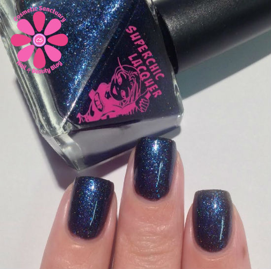 SuperChic Lacquer  Witches Agenda For Uberness Swatches & Review