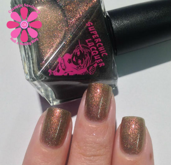 SuperChic Lacquer You Don't Jack About My Beans Swatches & Review