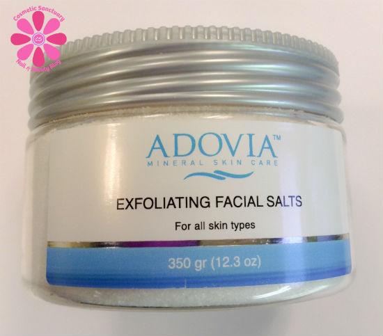 Adovia Exfoliating Facial Sea Salts Review